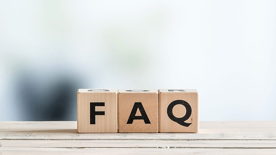 Check out our frequently asked questions